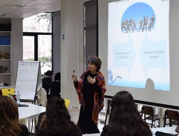 HR Partners-ის დირექტორის საჯარო ლექცია - დასაქმების პერსპექტივები