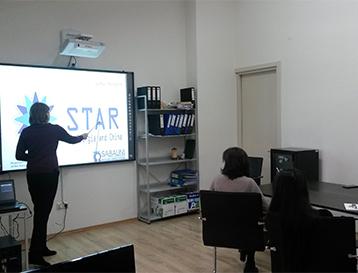 პროექტ STAR-ის შუალედური ანგარიში და პროფესიული განვითარების ცენტრის პრეზენტაცია