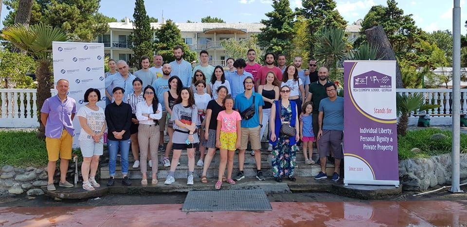 საბაუნის სტუდენტები საერთაშორისო სკოლაში